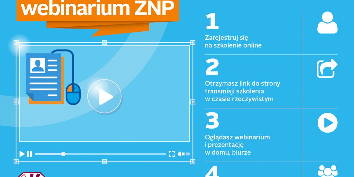 Szkolenie z awansu zawodowego online. Zaproszamy na webinarium ZNP!