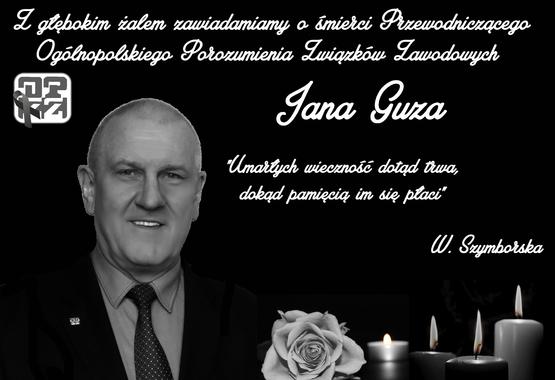 Zmarł kol. Jan Guz