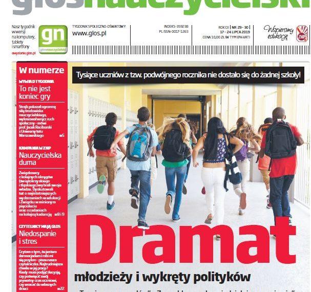 Głos: Dramat młodzieży i wykręty polityków