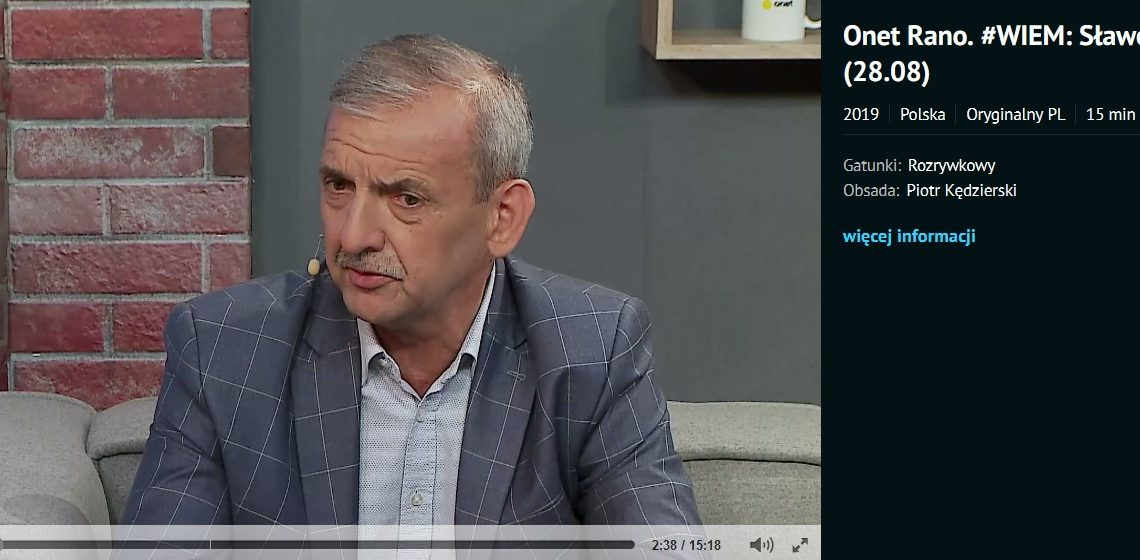 Prezes ZNP w Onet Rano