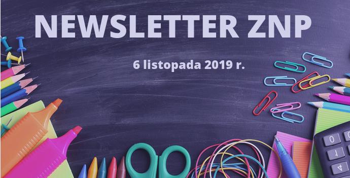 Newsletter 6.11.2019