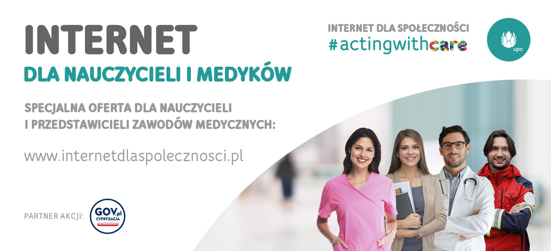 Darmowy internet dla nauczycieli od UPC Polska!