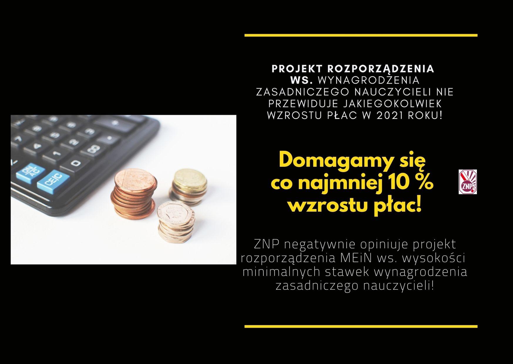 ZNP negatywnie opiniuje projekt rozporządzenia ws. wynagrodzenia zasadniczego