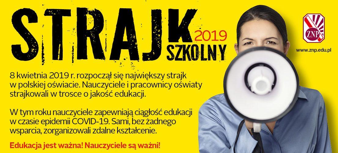 Dwa lata temu rozpoczął się ogólnopolski strajk w oświacie